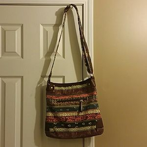 Fossil over the chest purse